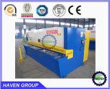 Feuille de machine de cisaillement hydraulique de métal