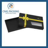 لون قرنفل صندوق من الورق المقوّى مع [بفك] نافذة ([كمغ-بغب-024])