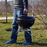 Im Freien Portalbe kampierendes Holzkohle BBQ-Gitter für Garten