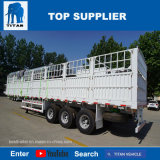 Rimorchio staccabile del carico della parete laterale degli assi del titano 3 per il camion di trasporto del contenitore semi