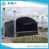 Beleuchtung-Kasten-Binder-Aluminiumleistung Satge Bogen-Dach-Binder