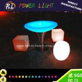 Jogos em mudança da mobília da cor recarregável ao ar livre do diodo emissor de luz