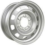 серебряная стальная оправа колеса зимы 15X6