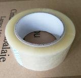 Pegamento BOPP Brown y cintas transparentes del embalaje que sellan las cintas