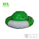 水土星の膨脹可能なロッカーを浮かべる紡績工UFO