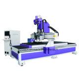 Ausschnitt und Stich der Holzbearbeitung-1325A-20 CNC-Maschine mit Bohrgerät-Bank für Tür, Möbel