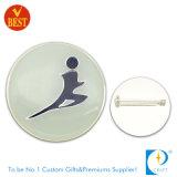 주문 중국에서 스포츠 회의를 위한 철에 의하여 인쇄되는 금속 Pin 기장