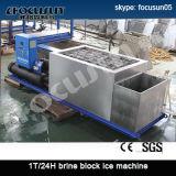 Creatore del ghiaccio in pani di refrigerazione della salamoia di Focusun