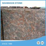 カウンタートップまたはタイルのための普及した瑪瑙の赤い大理石の大きい平板
