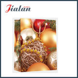 Оптовые напечатанные 4c мешки подарка несущей покупкы рождества бумажные