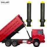 3 4 5 Fase levantando 13 - 90 Ton Caminhão Basculante Longo Curso do Cilindro Hidráulico da Caixa basculante