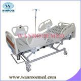 Cama de hospital eléctrica con la conexión suave