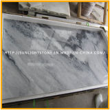 Marbres de pierre en bois blanc / noir poli naturel pour plancher / comptoir / pavage / mur