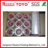 Cinta adhesiva transparente de calidad superior de la adherencia BOPP