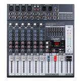 ミキサーまたはSoudのミキサーまたは専門家のミキサーの/Console/Soundコンソールかブランドのミキサー/Mixing Console/E8