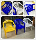 Drei Farben-Qualitäts-Plastikgarten-Stuhl mit Armlehne