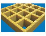 FRP geformte quadratische/rechteckige Vergitterung mit rutschfestem