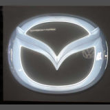 Прямой автомобиль логотип Manufactorer 3D-акриловый LED горячее формование автомобиль марки имена с логотипом