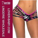 Lady Beachwear Skull Bikini Swim Wear Thong (L91290-3)