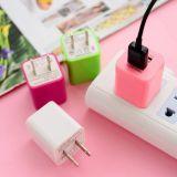 2.1A de draagbare Mobiele Dubbele Lader van de Reis van de Muur USB voor Telefoon