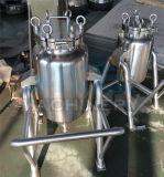 Beweegbare Vloeibare het Mengen zich van het Roestvrij staal Tank met Mengapparaat