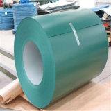 A cor verde PPGI para coberturas