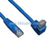 Ángulo de RJ45 Cable Cat6e Cable Cable de conexión por cable