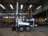 Usage domestique Équipement de perçage de remorquage pour puits d'eau, Pompe à boue Forage rotatif et forage par air DTH