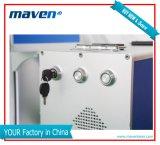 Bewegliches Farben-wahlweise freigestelltes motorisierte/manuell einfache Fokus-Faser-Laser-Markierung/Gravierfräsmaschine für alle Materialien
