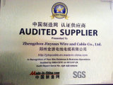 Cabo distribuidor de corrente isolado PVC de Nyy 0.6/1kv ao padrão de DIN/VDE