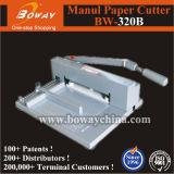 Petite machine de découpage de bureau de coupeur de papier de Manaul (BW-320B)