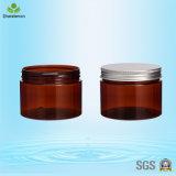 300ml Alumínio Screw Cap Pet Plastic Creme / Body Lotion Jar