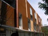 熱い販売の共押出しWPC壁パネルのクラッディング、外壁の装飾、抵抗力がある高い天候