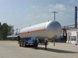 Tres ejes 50000L tanque de propano/remolque remolque tanque transportador de gas fabricantes