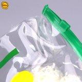 Sinicline는 비키니를 위한 옆 가장자리를 가진 로고 명확한 비닐 봉투를 주문을 받아서 만들었다