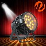 ズームレンズ18X12Wは6in1屋外LEDの同価ライトを防水する