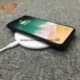 Qi-ultradünne drahtlose Aufladeeinheit für iPhone schnelle aufladentelefon-Zubehör