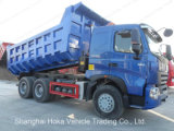 10 deposito di Sinotruk HOWO A7 6X4 del camion pesante del carraio/autocarro a cassone