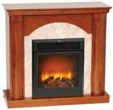 Classic construire- en cheminée électrique / peuvent être différents de Mantel