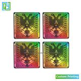 Personifizierter Farben-Hintergrund-Abziehbild-Drucken-Laser-Kleber-Aufkleber