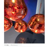Lampadario a bracci di Vakum Matellisering della lampada Pendant di Pendel Krom Tom Dixon della fusione