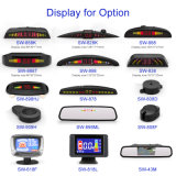 Цифровой светодиодный дисплей зеркала заднего вида автомобиля помощи парковочный датчик системы