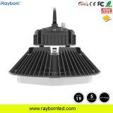 160lm/W MW 220-240 V Gimnasio Epistar LED Highbay OVNI con CE