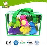 水Squirter子供、卸し売り赤ん坊のおもちゃ、中国の子供Pruductのための少し柔らかいゴム製恐竜のおもちゃ