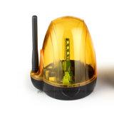 Nuevo diseño de bajo voltaje AC/DC la luz del flash con LED de alarma