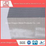 Folha de núcleo do bloco alveolado de alumínio para a mesa de corte a laser