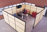 Nueva moda de vidrio aluminio Oficina insonorizada partición (SZ-WS565)