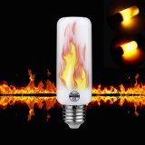 5W E26 Luz de chama com 3 modos+Sensor de gravidade LED lâmpadas chama de fogo