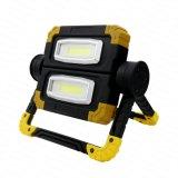 4AA Emergencia Plegable Portátil Lámpara LED de trabajo