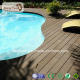 Proveedor de Guangdong compuesto de plástico de madera al aire libre Piscina resistencia UV WPC techado
